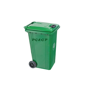 PG-T240L Outdoor Galvanized Metal Garbage Bin