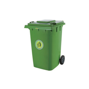 360L Wheelie Outdoor Plastic Garbage Container